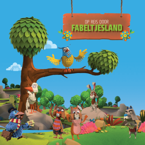 campagnebeeld expo Fabeltjesland