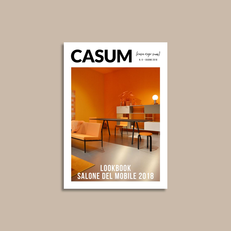 Casum Lookbook Salone del Mobile 2018 cover