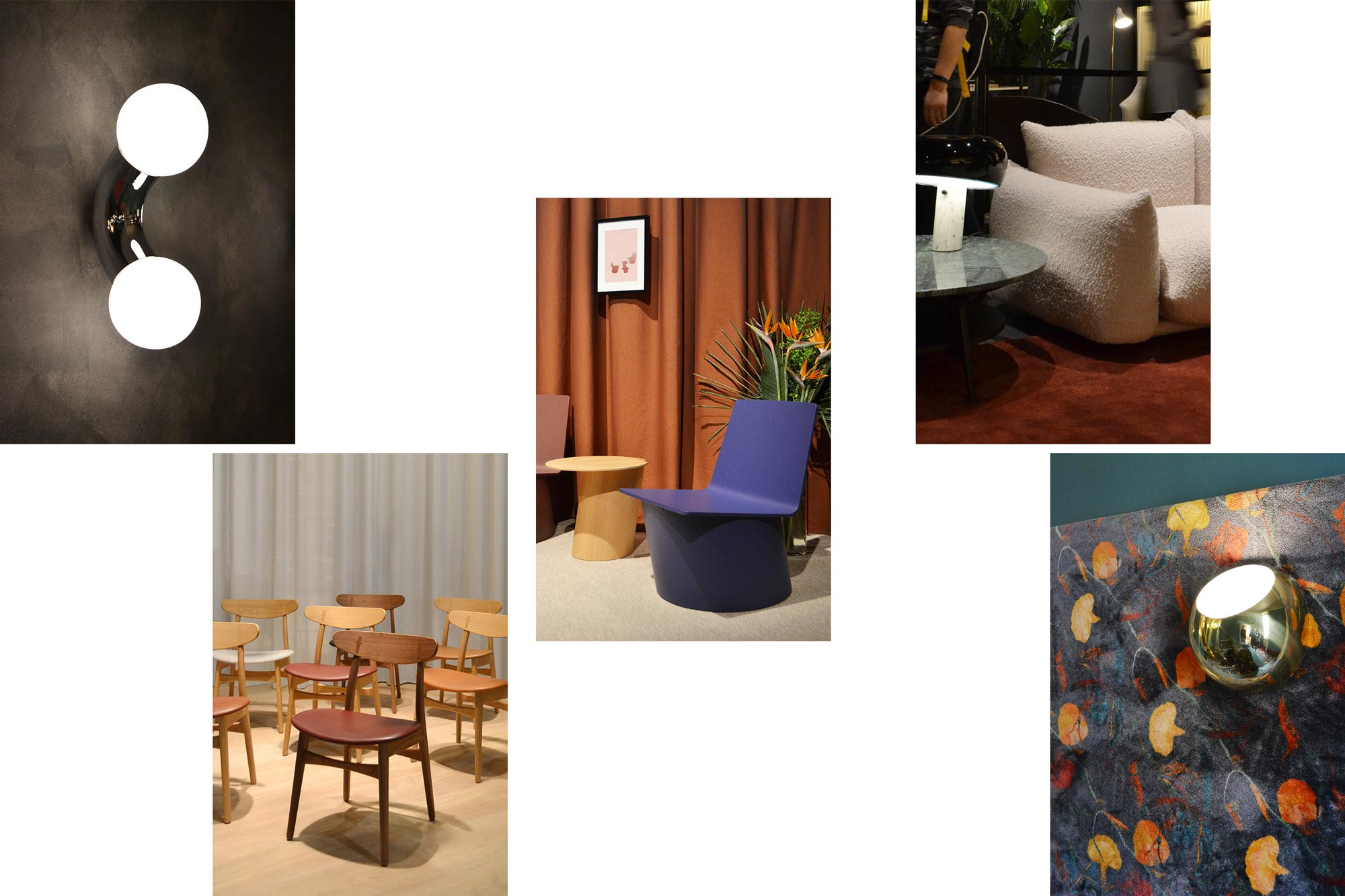 Casum Trends Salone del Mobile 2019. AndLight, Carl Hansen & Søn, Crassevig, Arflex e Besana + Esperia