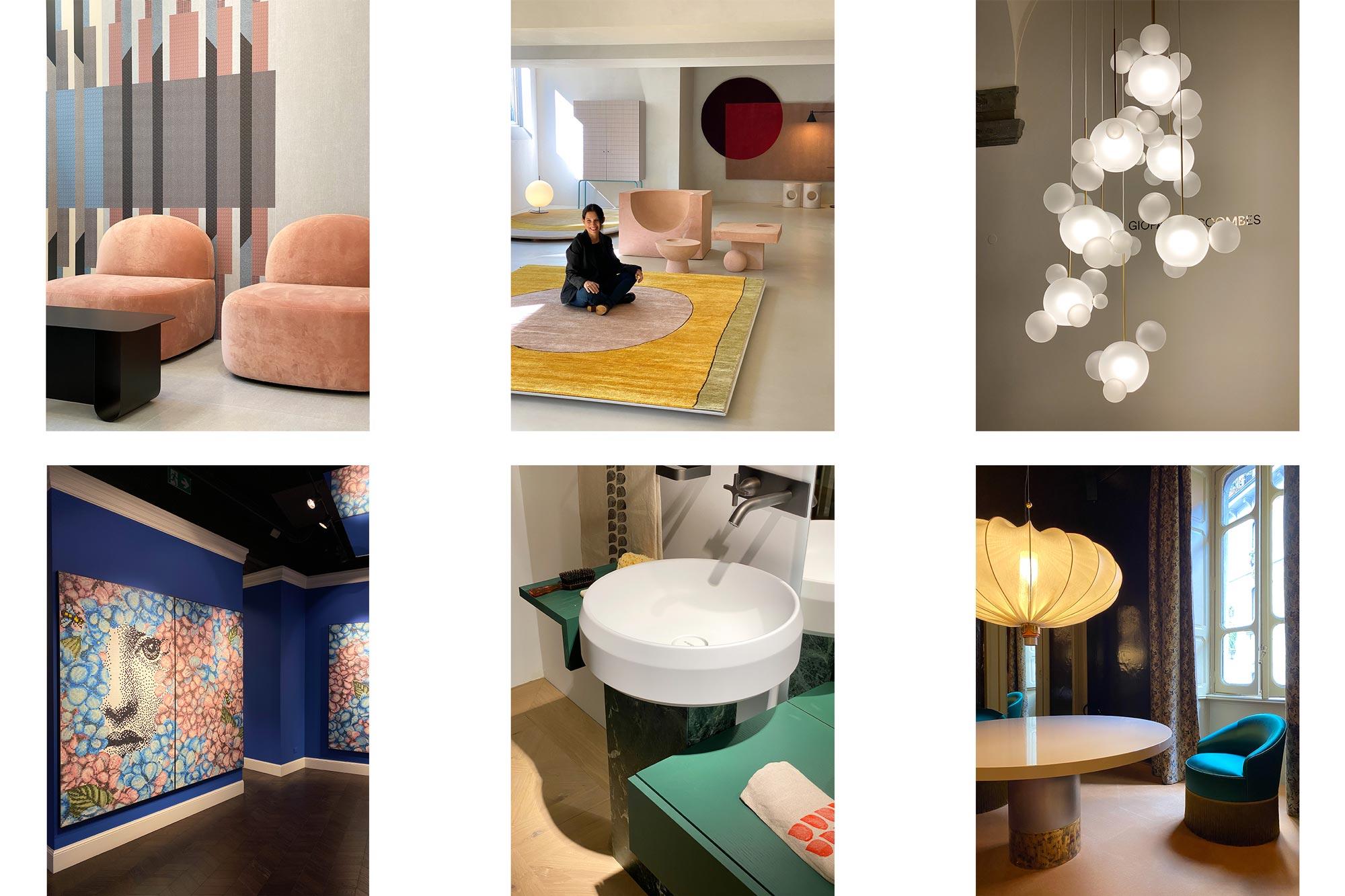 Milano Design City 2020 by Casum on Instagram: Cedit, Amini, Giopato & Coombes, Bisazza Fornasetti, Agape, Dimoremilano