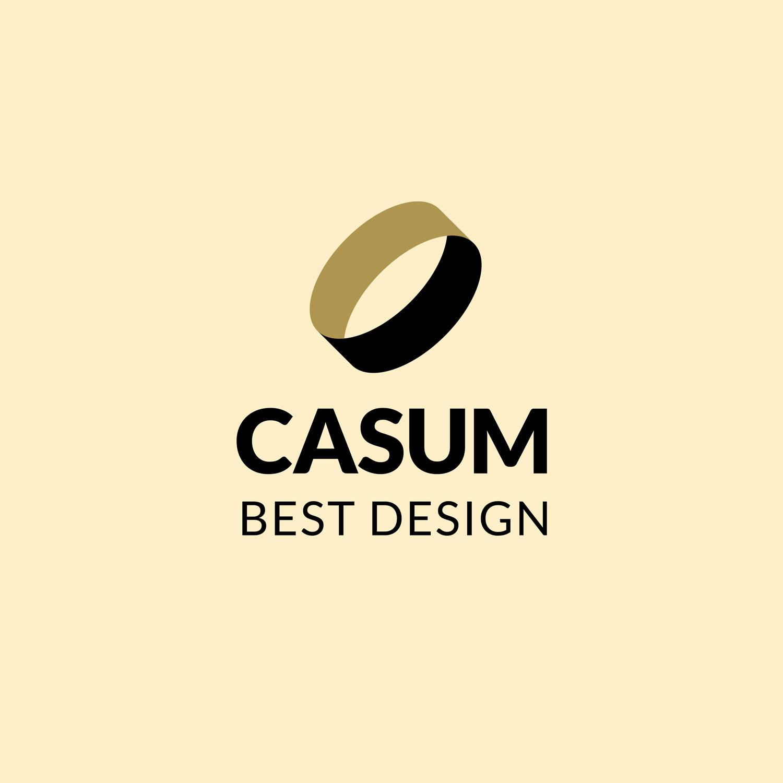 Casum timeline. Casum Best Design logo