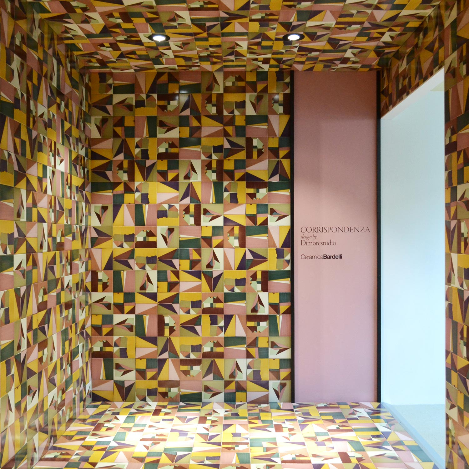 Casum Best Design 2017 Cersaie Edition: coverings at Ceramica Bardelli booth