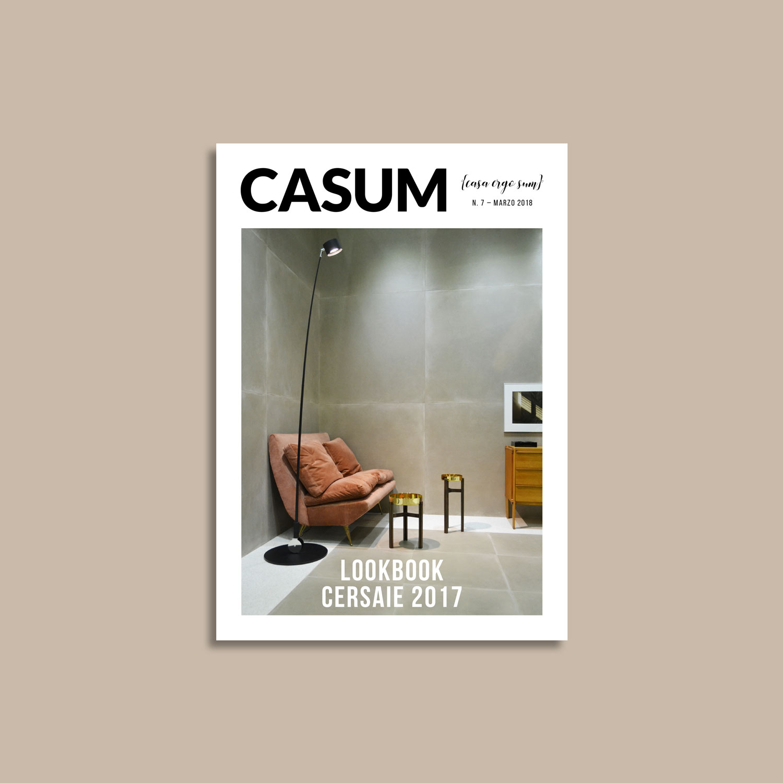 Casum Lookbook Cersaie 2017 cover