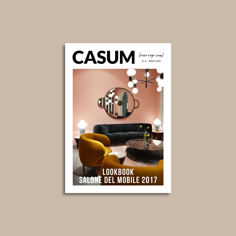 Casum Lookbook Salone del Mobile 2017 cover