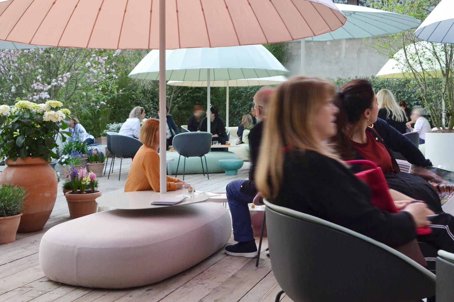 Outdoor furniture by Paola Lenti