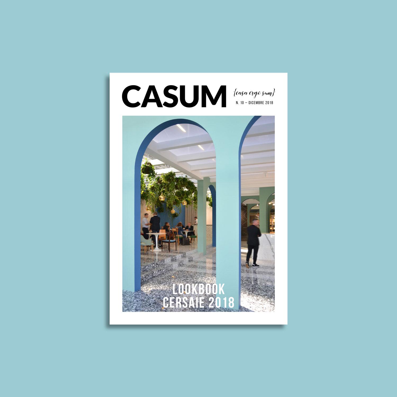 Casum Lookbook Cersaie 2018 cover