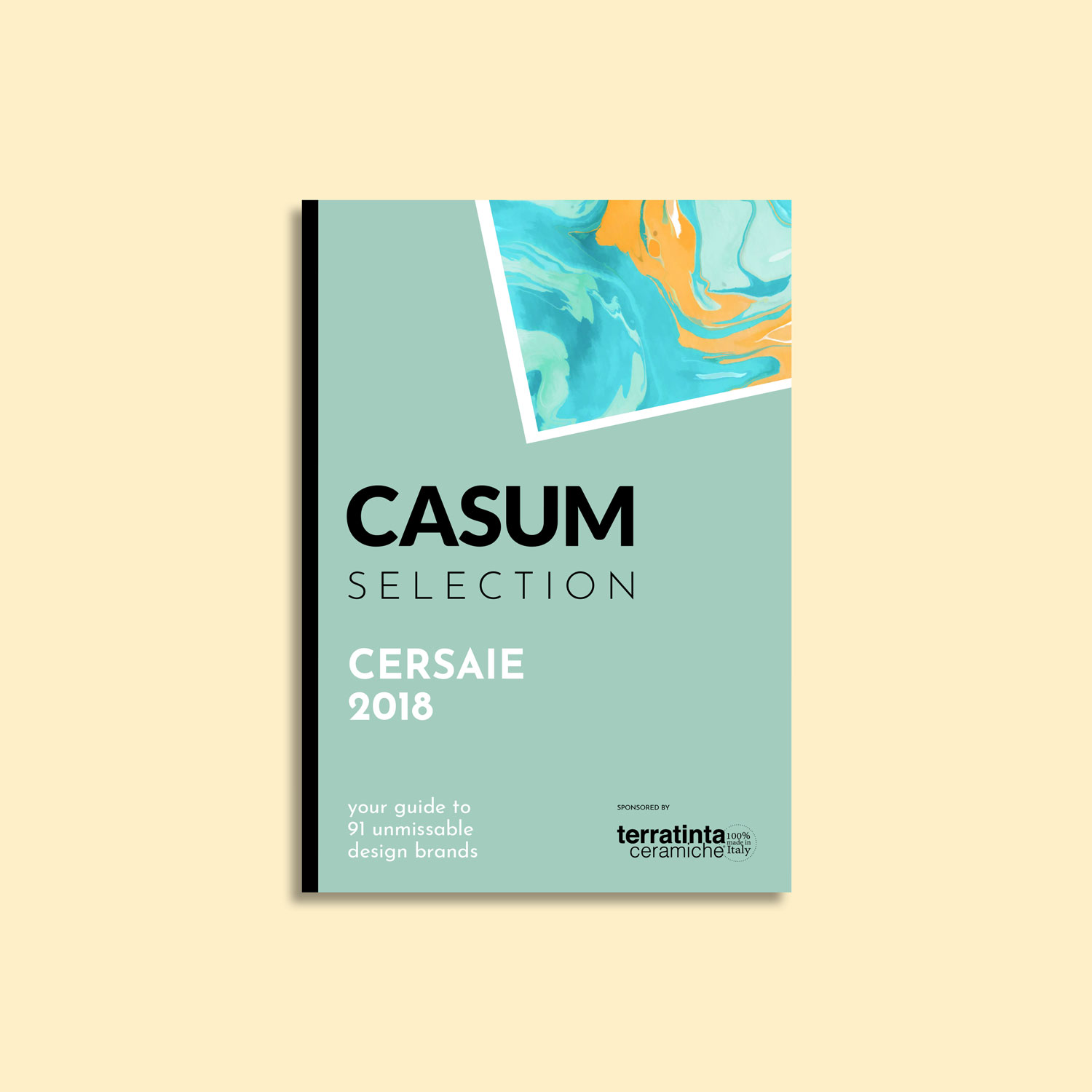 Casum timeline. Cover of the first edition of Casum Selection