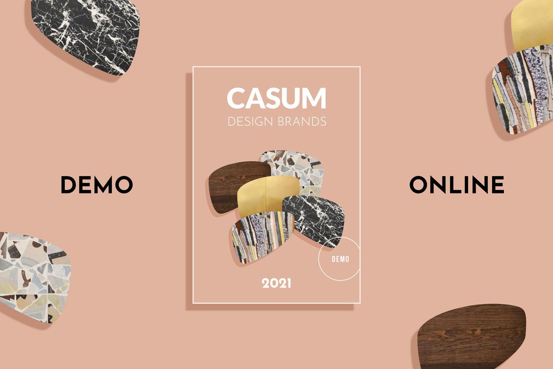 Casum Design Brands 2021. Demo online