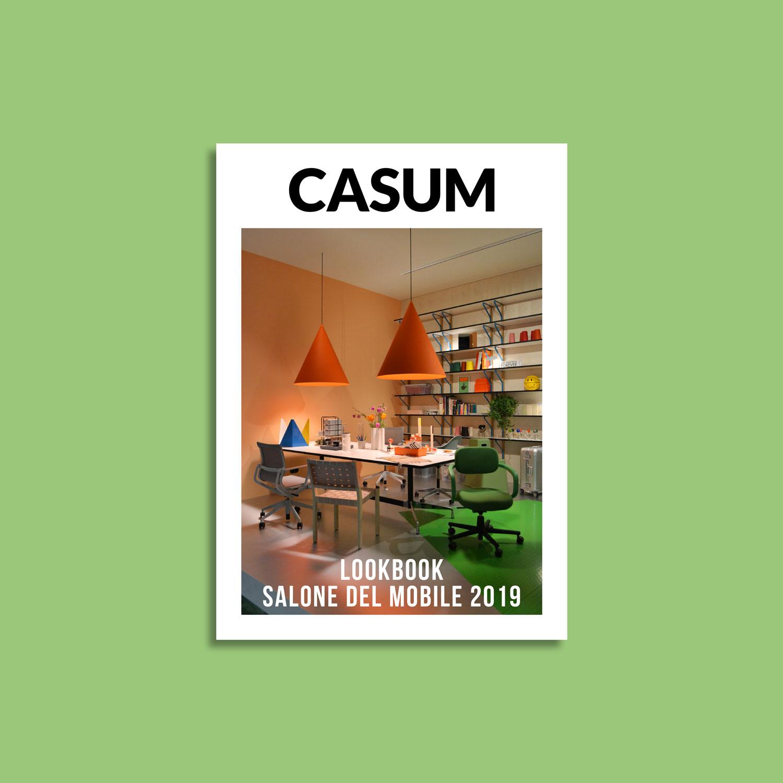 Casum Lookbook Salone del Mobile 2019 cover