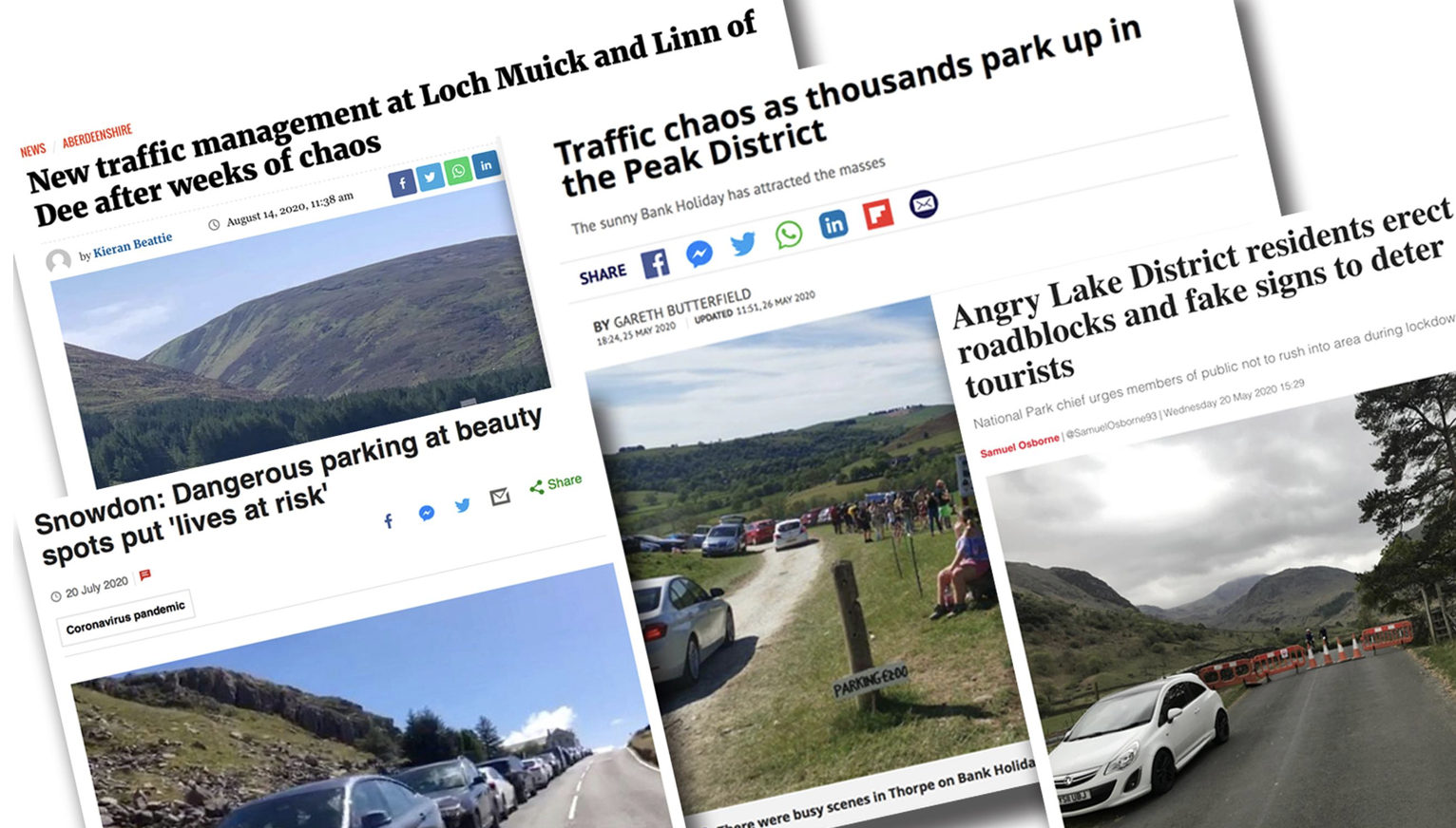 Staycations have exposed the need for coherent strategies to manage leisure traffic