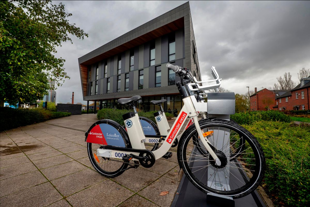 The £600,000 project is being funded by a partnership made up of Leicester City Council - following the council's successful bid to the Department for Transport's Transforming Cities fund – with sponsorship from Santander UK and additional investment from the operator, Ride On, and their delivery partner Enzen Global