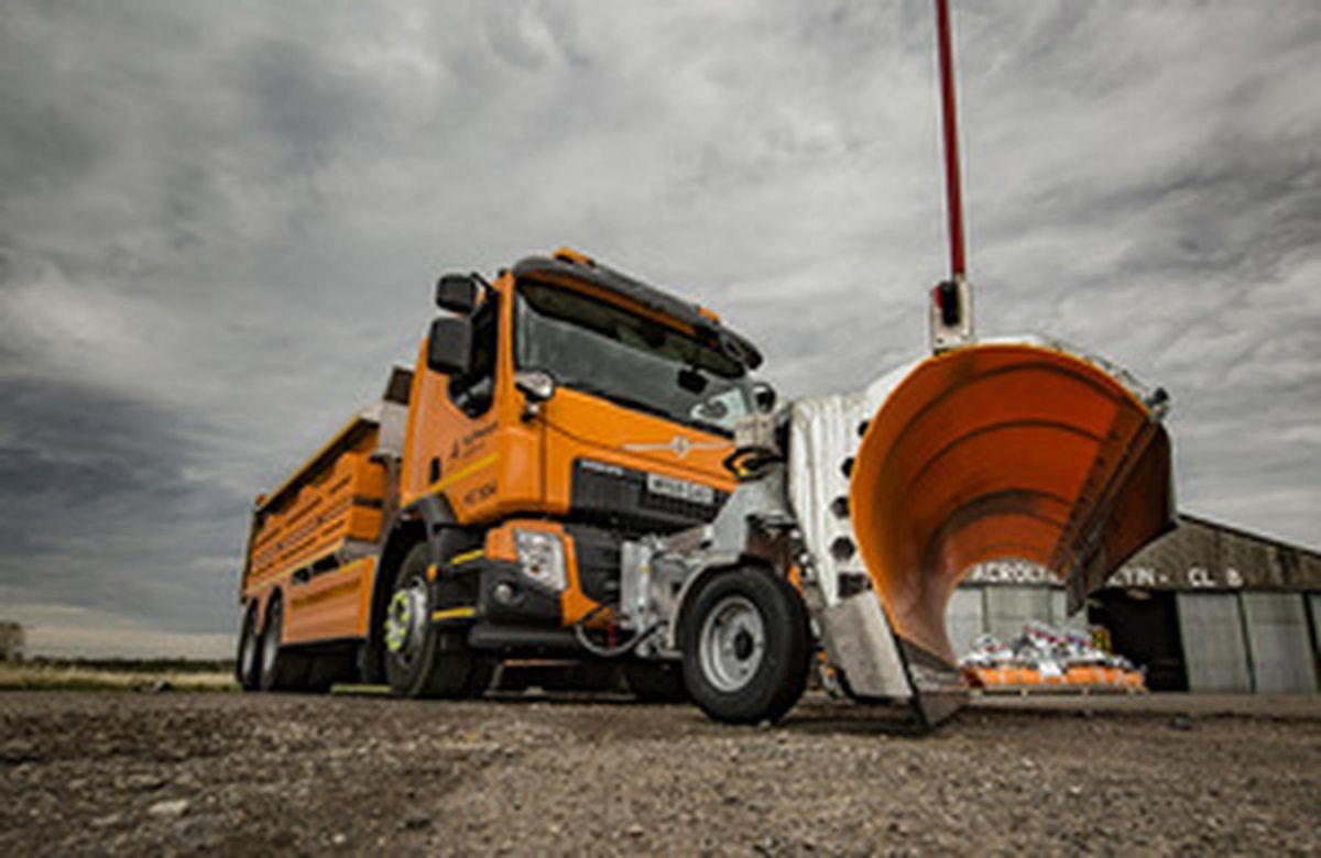 Highways England is modernising its gritter fleet