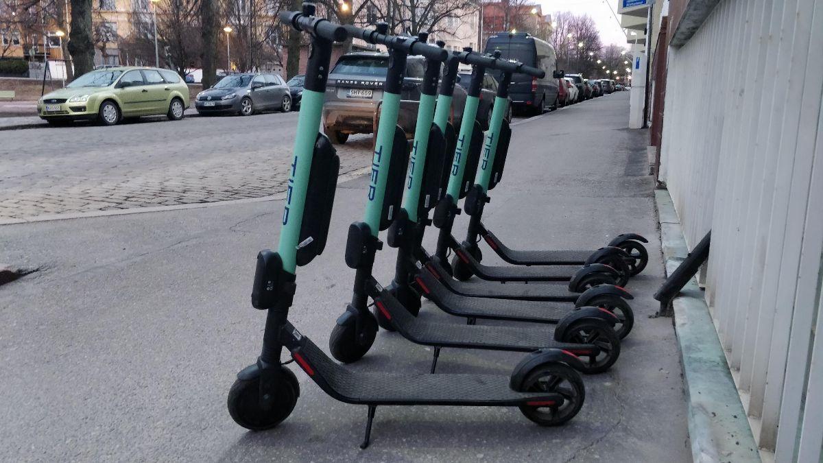 TIER: e-bikes and more e-scooters