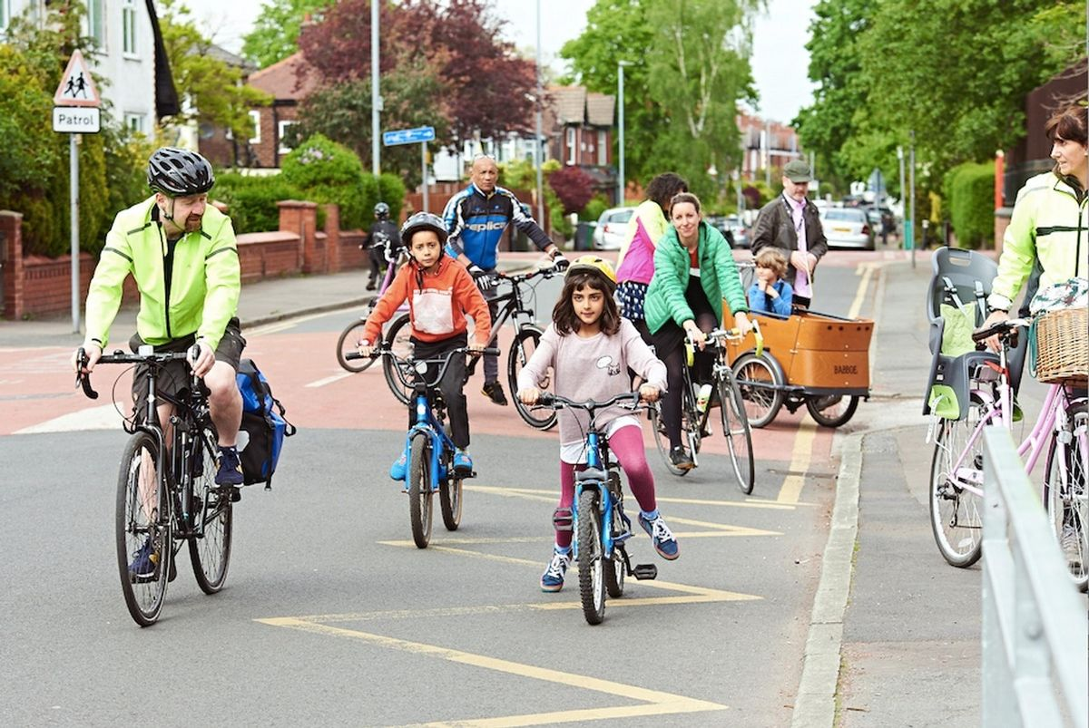 Survey reveals that 47% of respondents will continue to cycle and walk more often in Greater Manchester