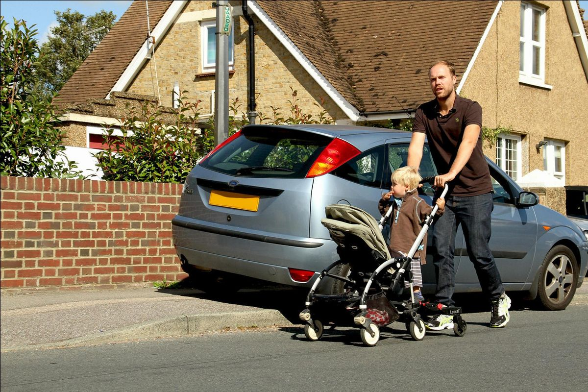 Pavement parking presents a clear safety risk when parked cars occupy the pavement and force vulnerable pedestrians to move into the road