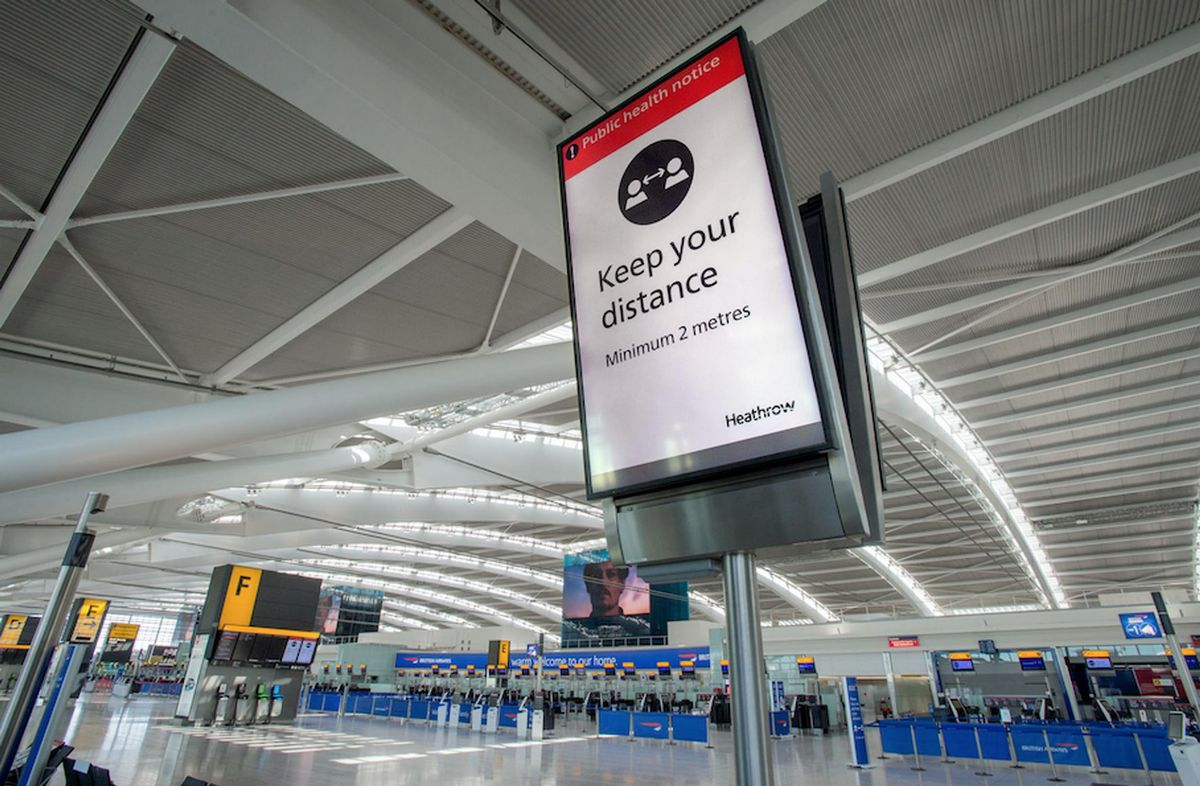 The UK aviation sector has given the new testing regime a guarded welcome (Image: Heathrow)