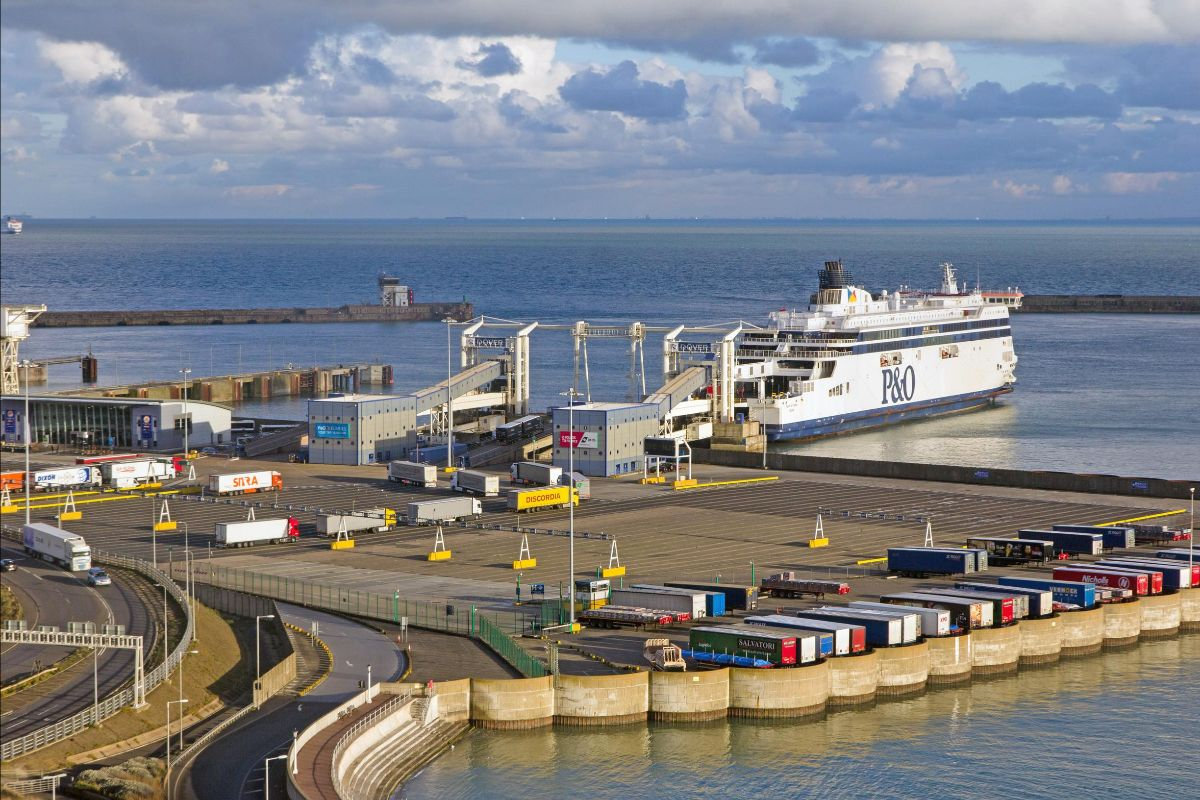 Dover: a phased traffic management plan has been prepared to manage port-bound HGVs