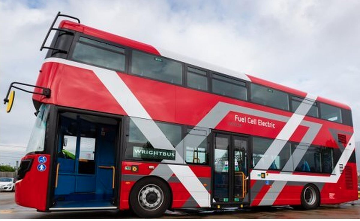 Jo Bamford, owner of both Wrightbus and green hydrogen production company Ryse, has plans for the rollout of 3,000 hydrogen buses in the UK by 2024
