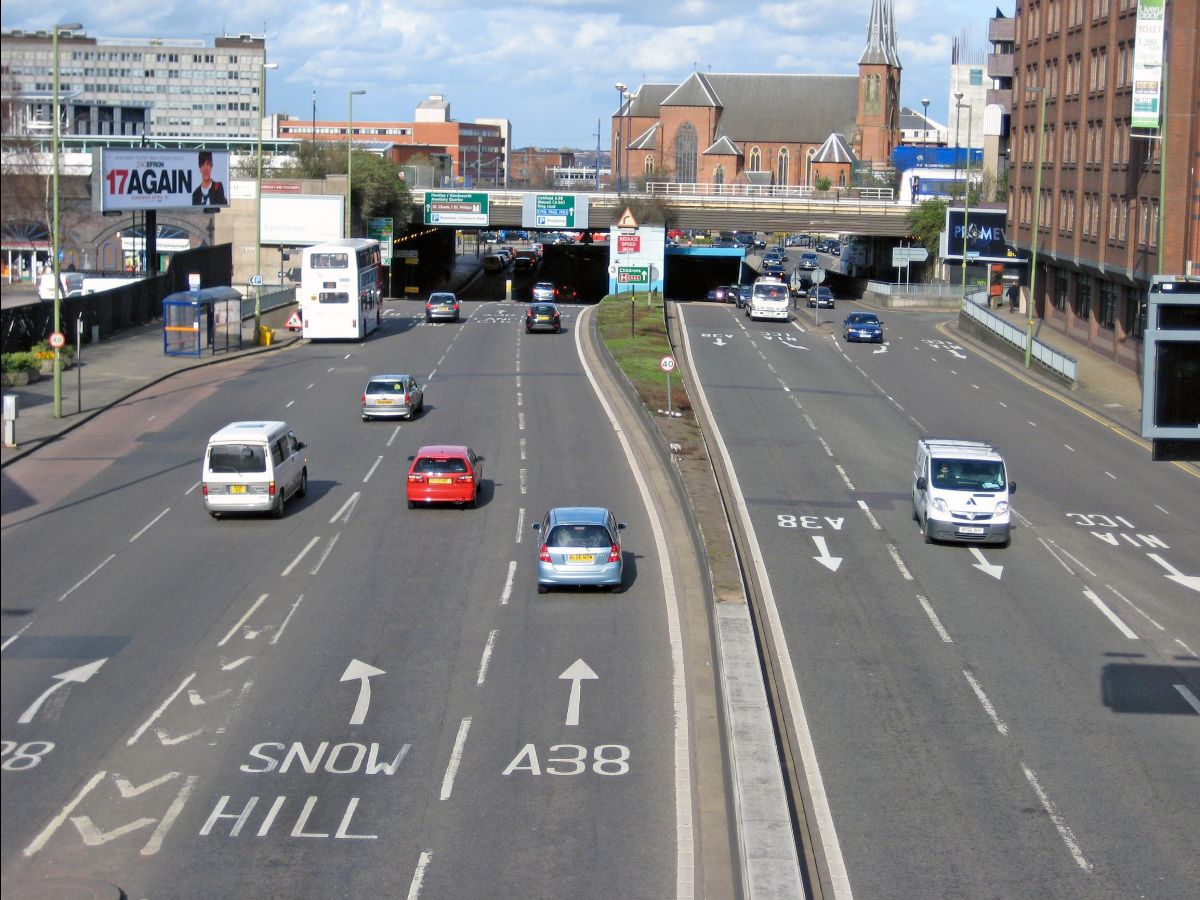 Birmingham's Clean Air Zones comes into force on 1 June 2021 and will cover the area inside the inner ring road (A4540 Middleway)