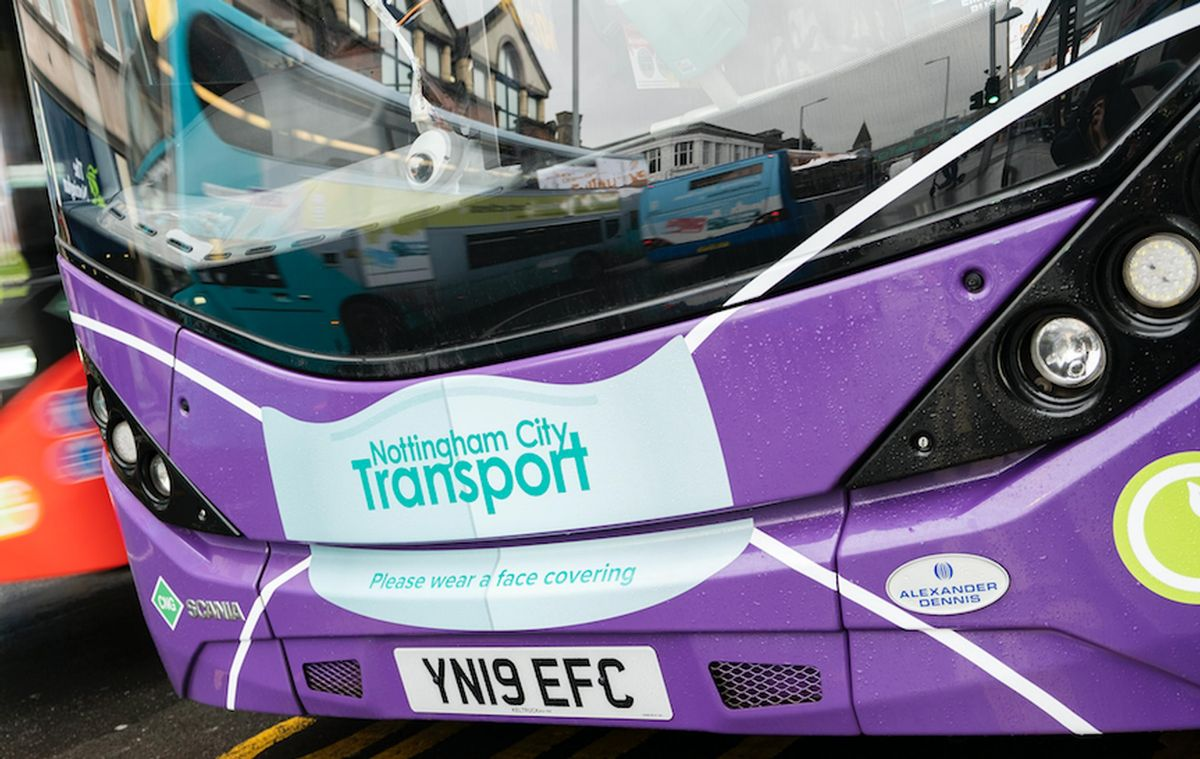 Passenger provides Automaticn Vehicle Location data to the Bus Open Data Service on behalf of Nottingham City Transport