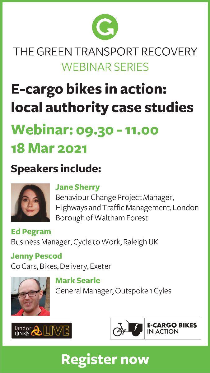 E-cargo bikes in action Webinar