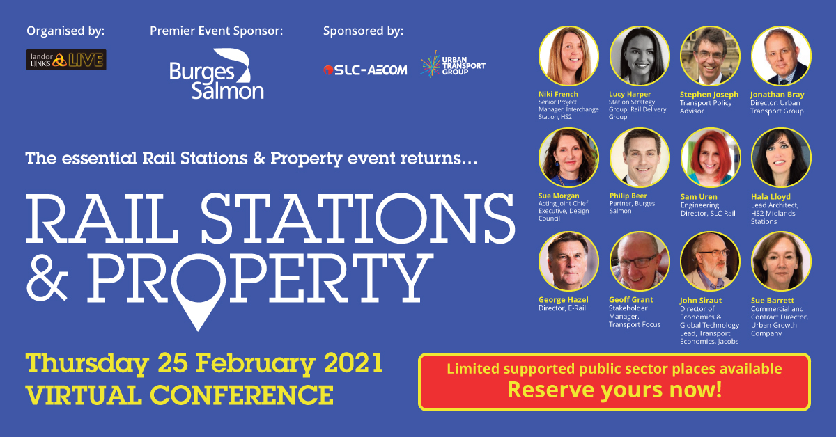 Rail Stations & Property Virtual Conference