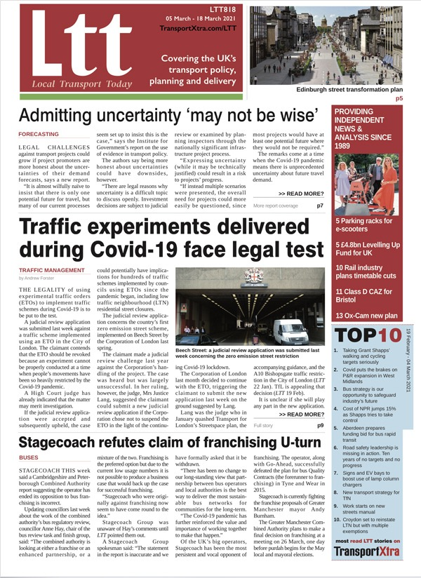 Local Transport Today Issue 818
