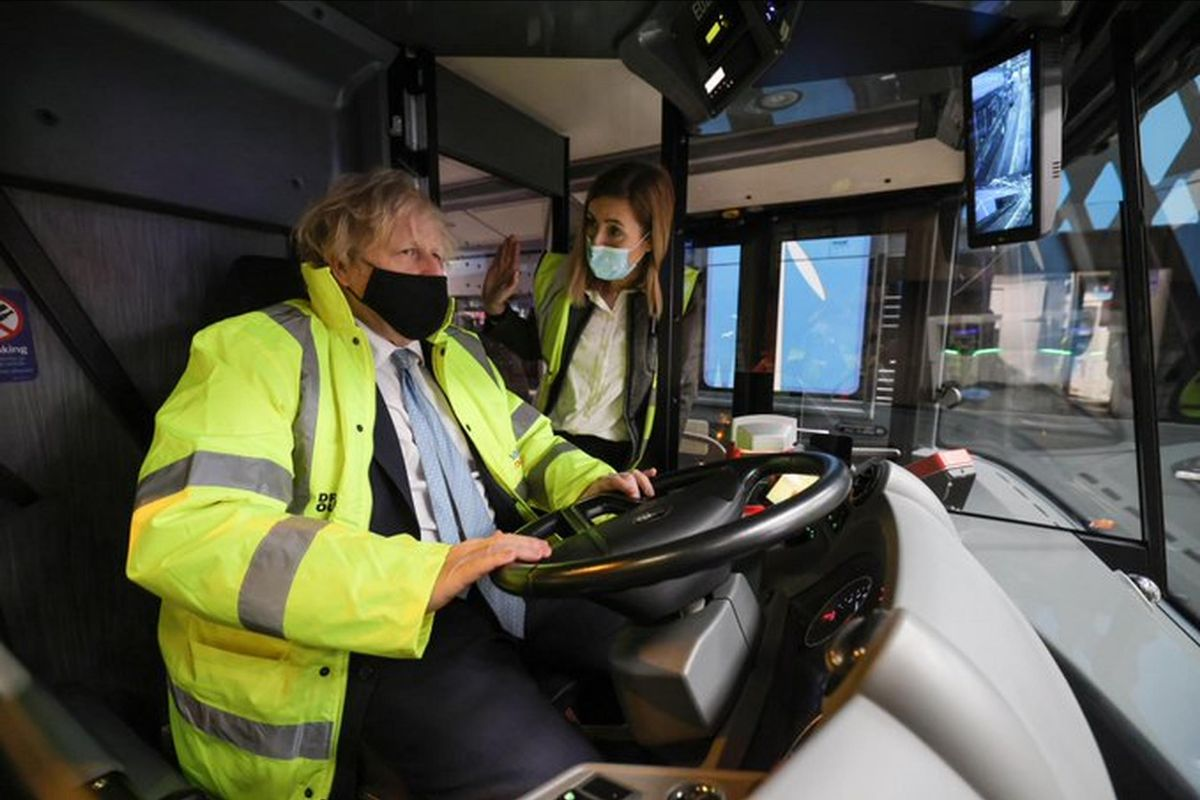 The National Bus Strategy for England was unveiled by the Prime Minister as he toured the National Express depot in Coventry