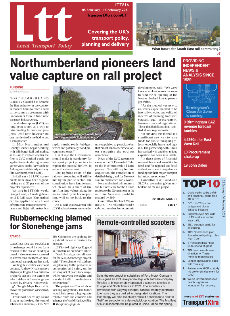 Local Transport Today Issue 816