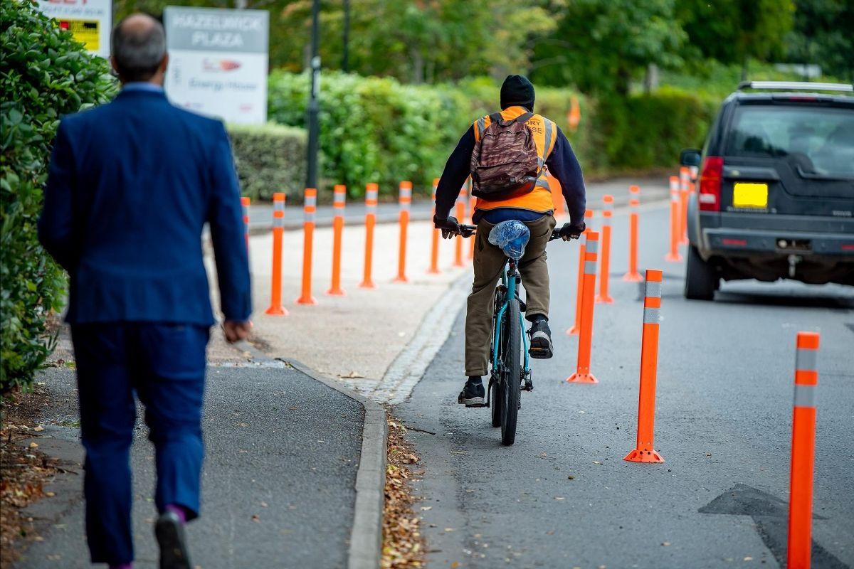 Crawley`s trial cycleway