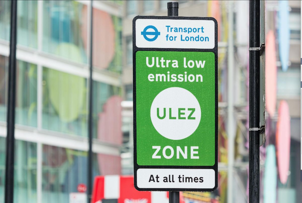 The ULEZ is among the Mayor of London`s traffic reduction projects