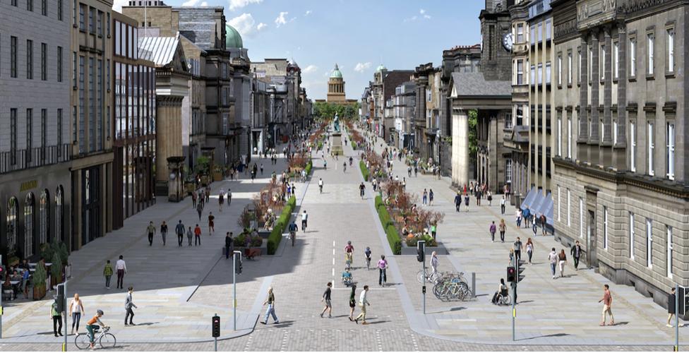 Edinburgh's vision of a greener George Street