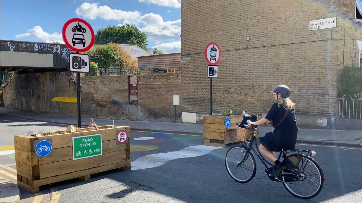 The second round of funding will pave the way for more Low Traffic Neighbourhoods. PIC: Sarah Berry, Lambeth Living Streets