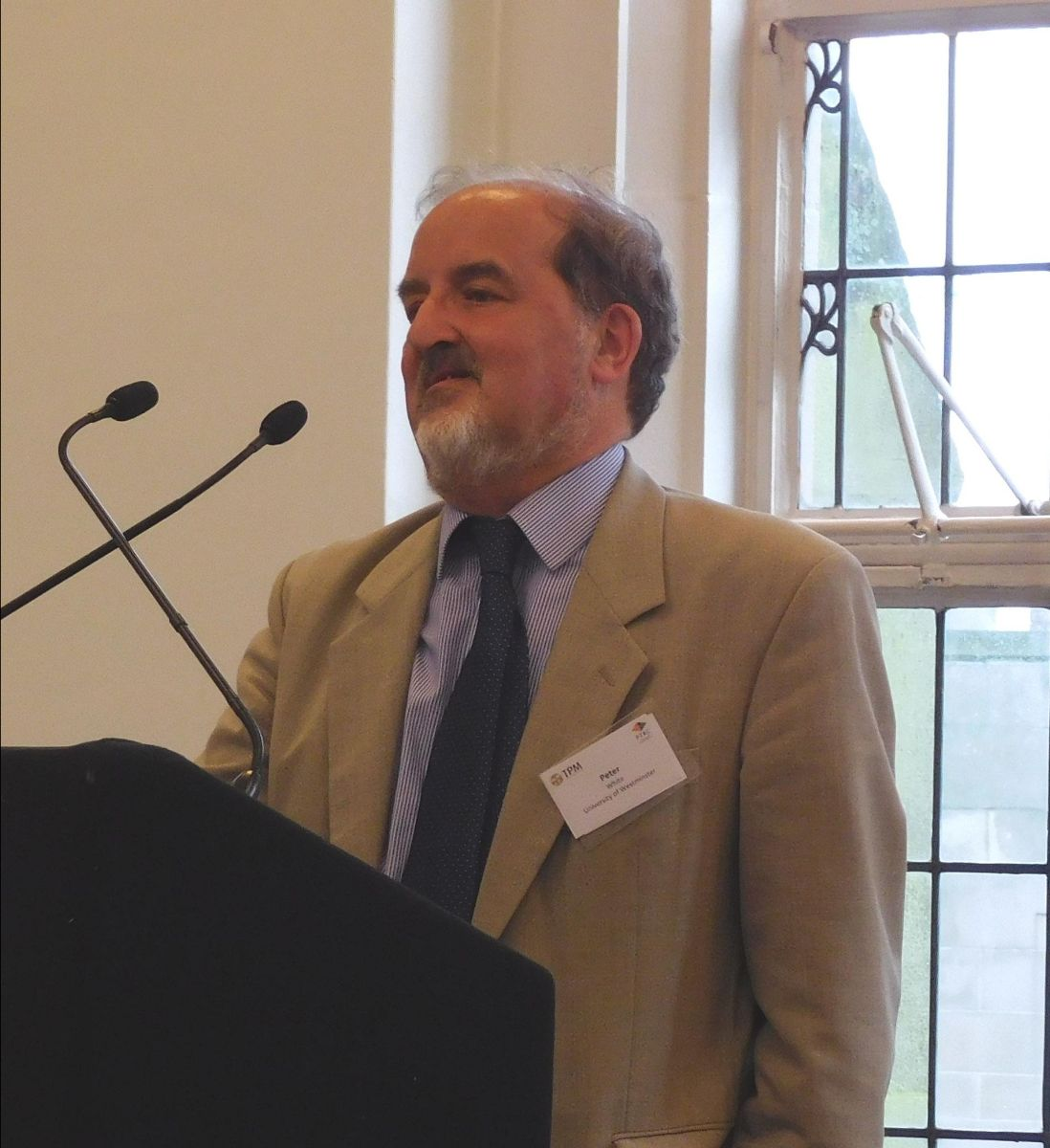 Peter White University Of Westminster