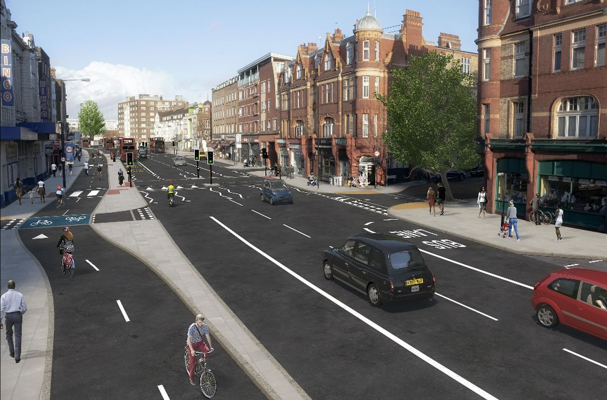TfL firms up Streatham Hill walking and cycling measures