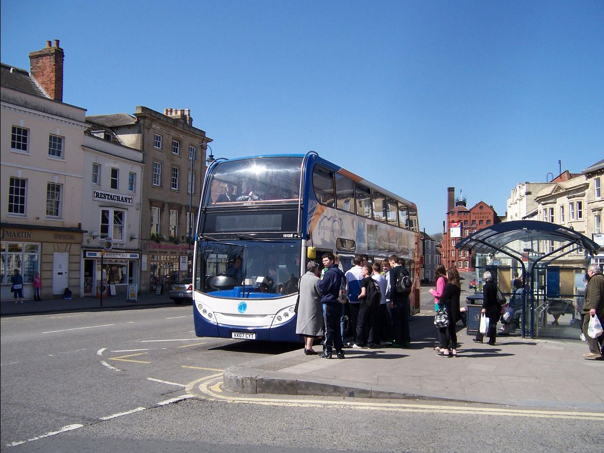 There have been 97 million fewer bus journeys in the shire counties compared with 10 years ago