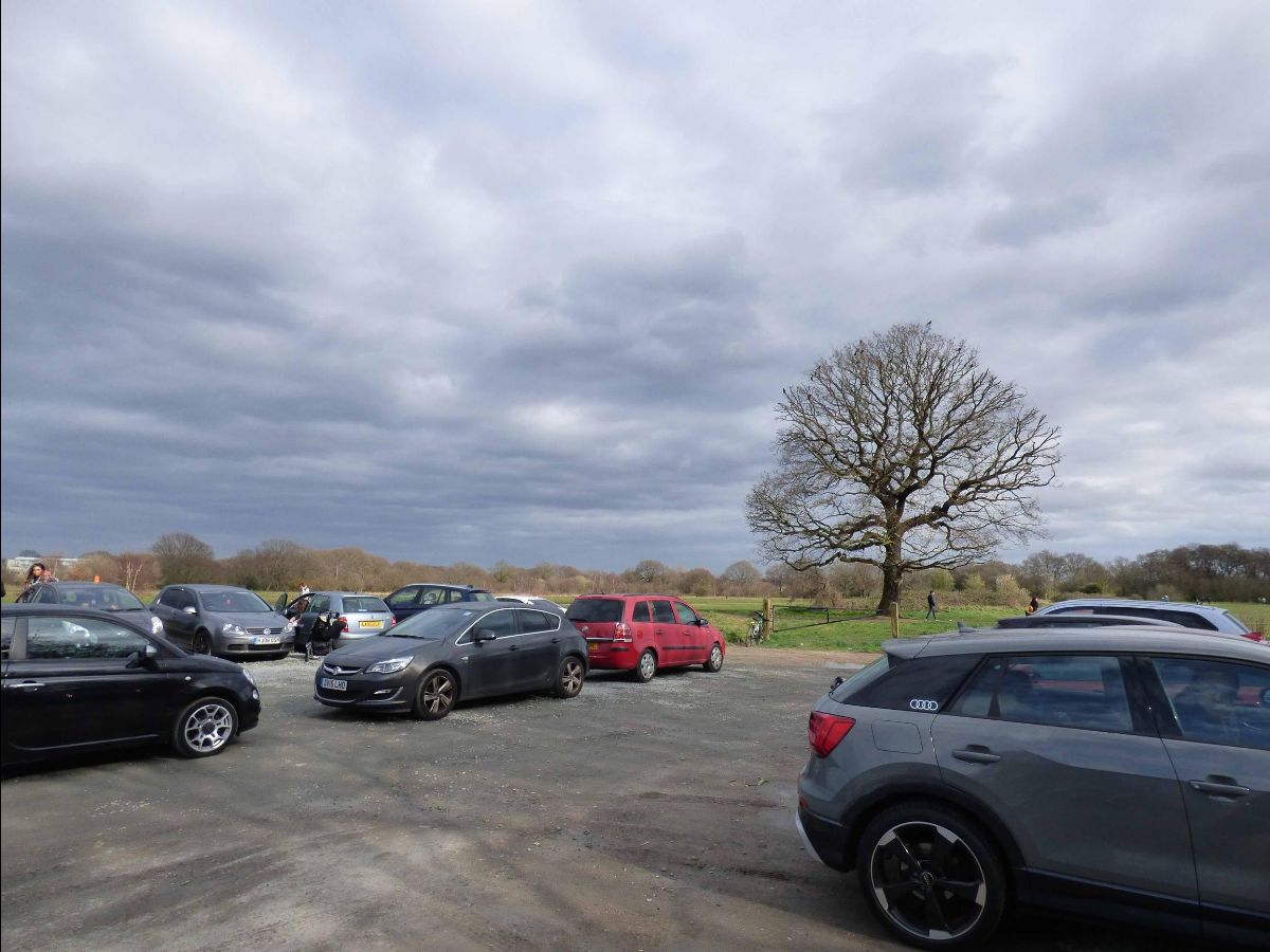Leyton Flats car park, one of 14 in Epping Forest, where charges will start on 1 April
