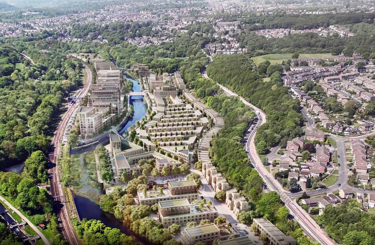 Kirkstall Forge, West Yorkshire, is a rail-based development on the edges of Leeds, and a model for mixed use futures in the UK