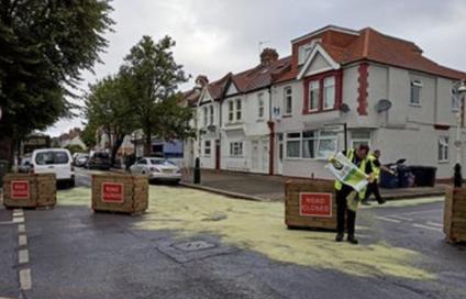 Active travel measures in Poole vandalised