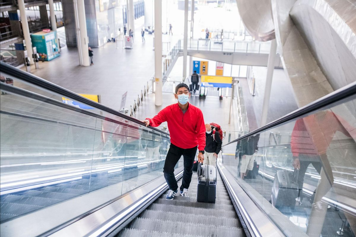 The UK government has worked with key airports to develop the new testing and quarantine rules for passengers (Heathrow Airport