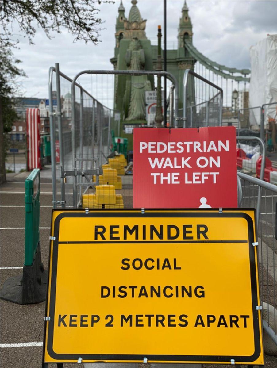 Hammersmith Bridge has been closed since August (John Cameron/Unsplash)