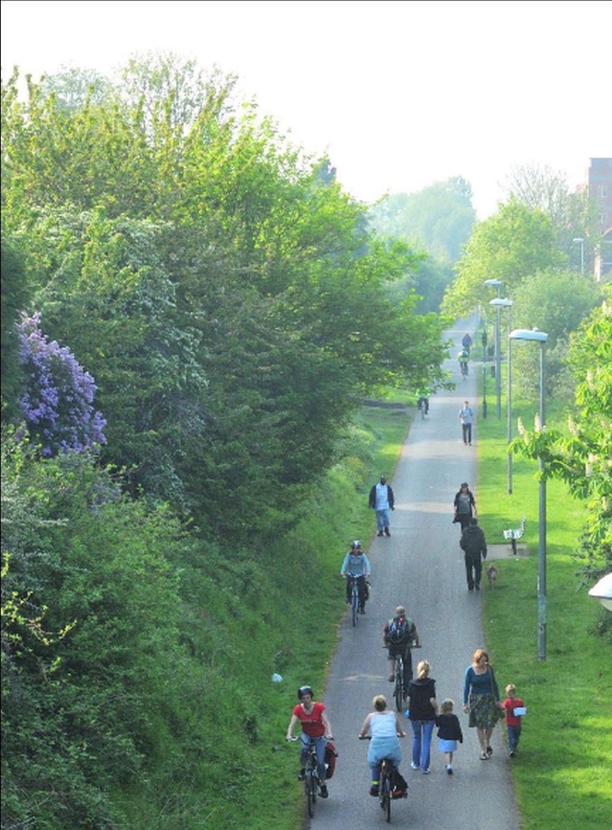 The UK government wants to encourage more walking and cycling