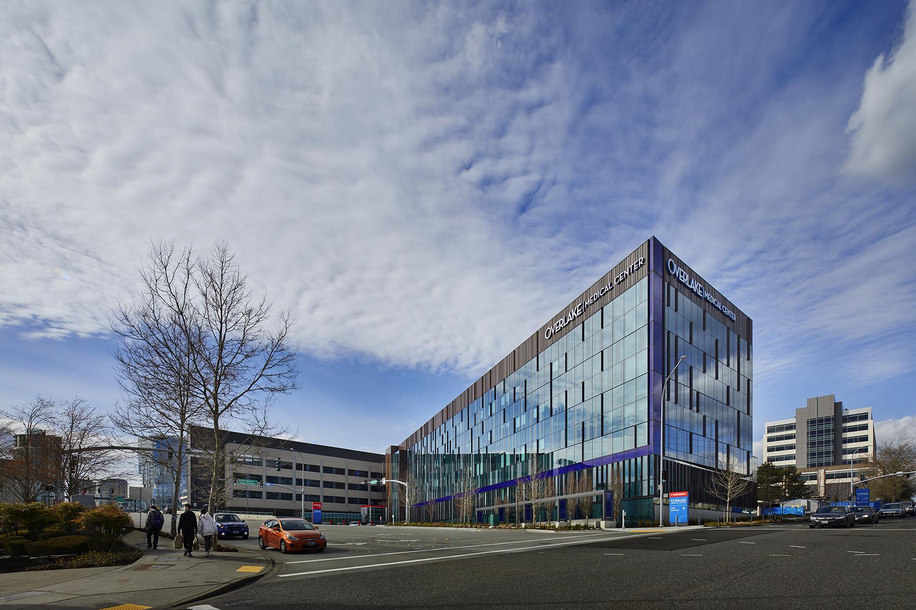 Overlake Medical Center building.