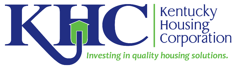 Kentucky Housing Corporation logo - Investing in quality housing solutions.