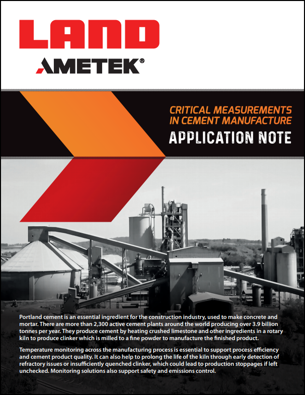 Critical Measurements in Cement Manufacture