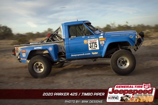 Jimbo Piper, Jeepspeed, General Tire, KMC Wheels, Parker 425, Bink Designs