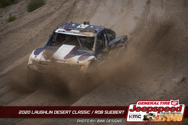 Jeepspeed, Rob Suebert, Laughlin Desert Classic, General Tire, KMC Wheels, Bink Designs