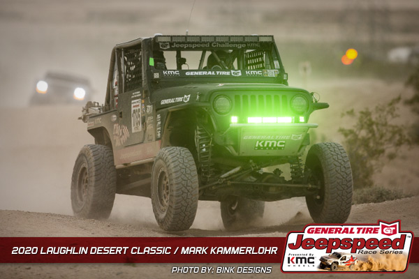 Jeepspeed, Mark Kammerlohr, General Tire, KMC Wheels, Bink Designs, Laughlin