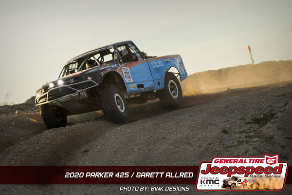 Garett Allred, Jeepspeed, General Tire, KMC Wheels, Parker 425, Bink Designs