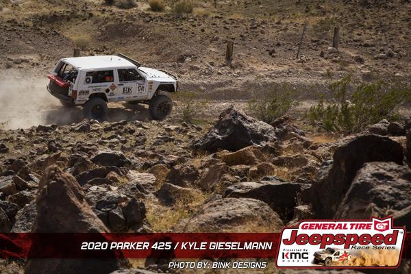 Kyle Gieselmann, Jeepspeed, General Tire, KMC Wheels, Bink Designs, Parker 425